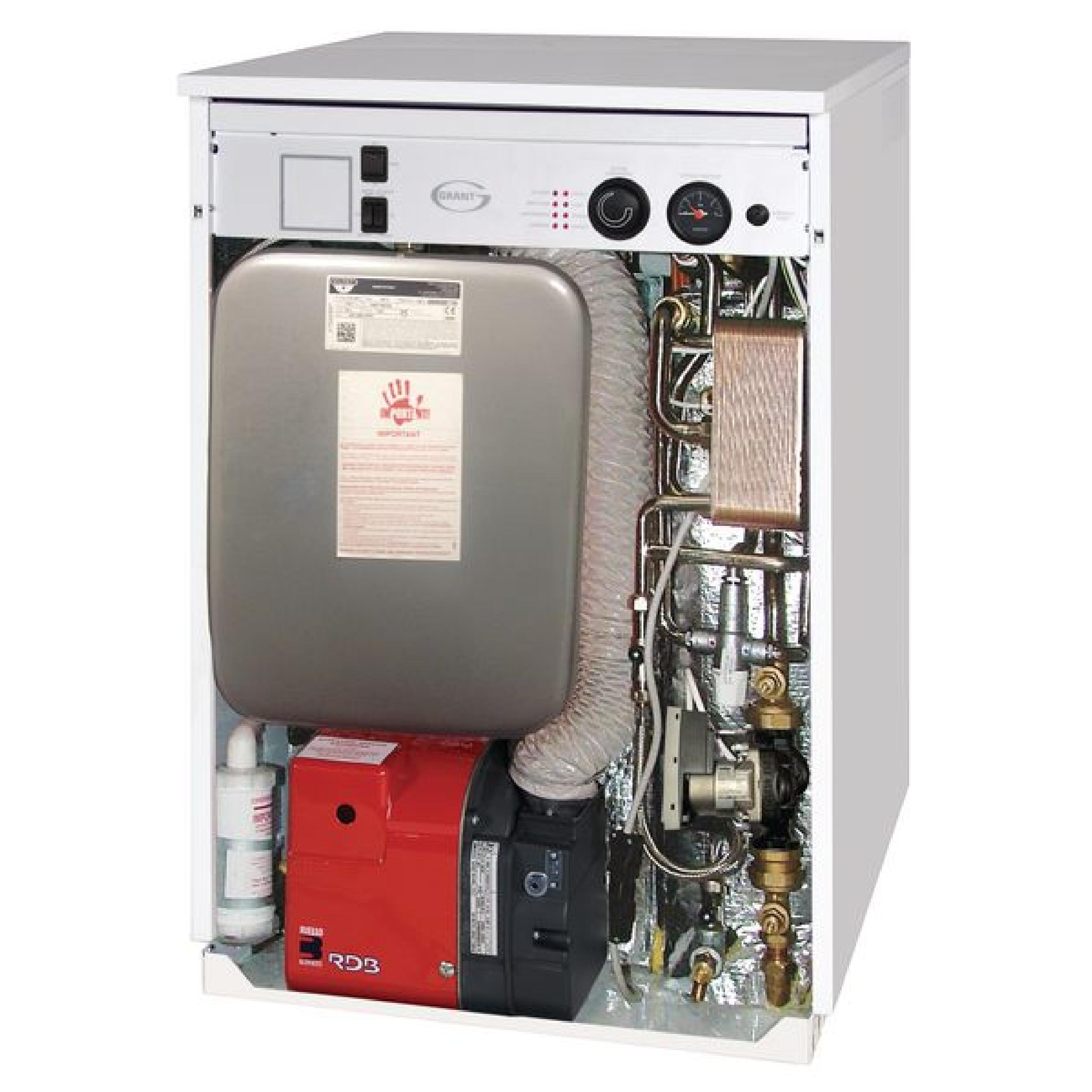 Grant Vortex Pro 26HE ErP High Efficiency Outdoor Combi Oil Boiler ...