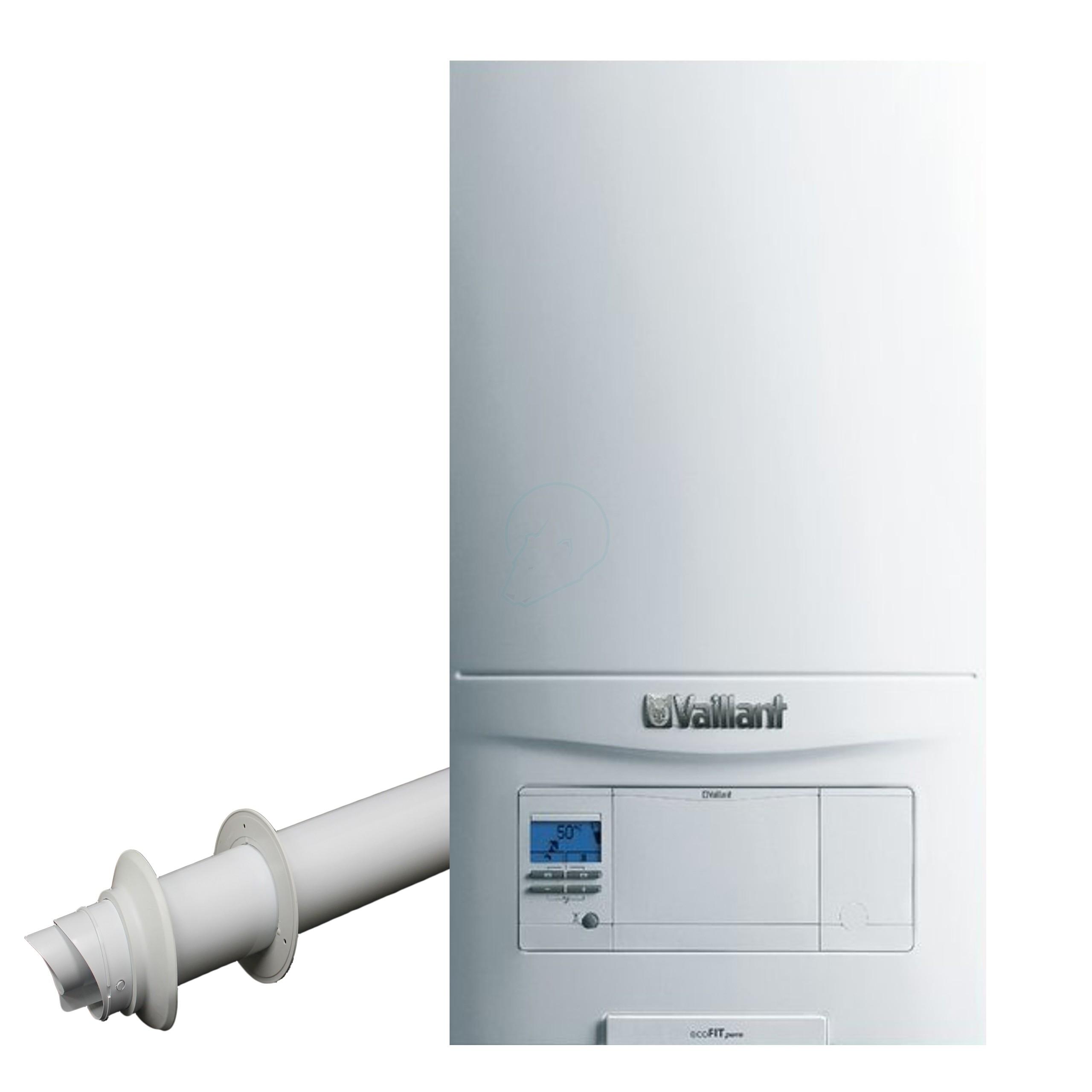 Vaillant EcoFit Pure 825 Boiler & Standard Flue Pack – Plumb Trades